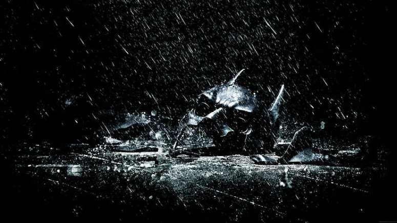The Dark Knight Rises promotional art
