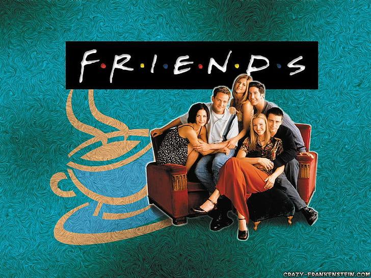 Hd Wallpaper Chandler Bing Friends Tv Series Joey Tribbiani Monica Geller Wallpaper Flare