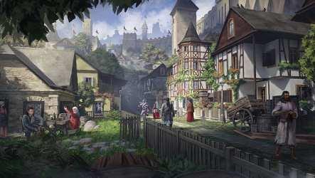 Fantasy art medieval 1080P 2K 4K 5K HD wallpapers free download Wallpaper Flare
