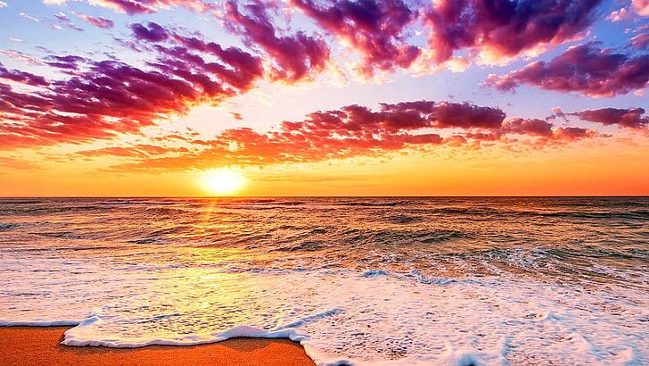 hd wallpaper sky horizon