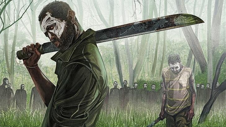 HD wallpaper: artwork, machete | Wallpaper Flare