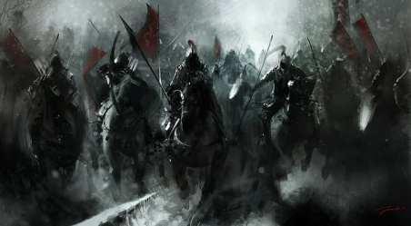HD wallpaper: fantasy art medieval battle banner war winter warrior Wallpaper Flare