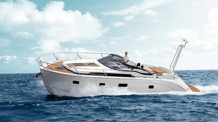 To find the owner of a yacht, locate the boat's hull identification number. Hd Wallpaper Vehicles Yacht Wallpaper Flare