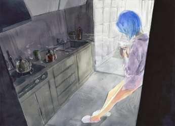 HD wallpaper: fantasy art one person kitchen indoors women home domestic kitchen Wallpaper Flare