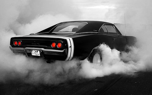 dodge charger r/t with bronze bd23 rims by. Hd Wallpaper Black Muscle Car Fast And Furious Dodge Charger Muscle Cars Wallpaper Flare