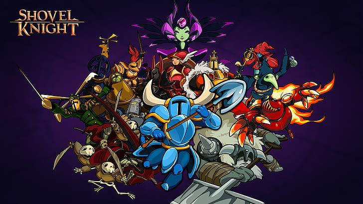 fantastic shovel knight characters