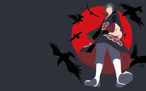 Hd Wallpaper Anime Naruto Itachi