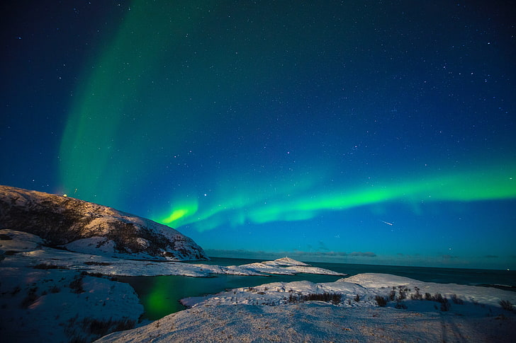 hd wallpaper aurora borealis