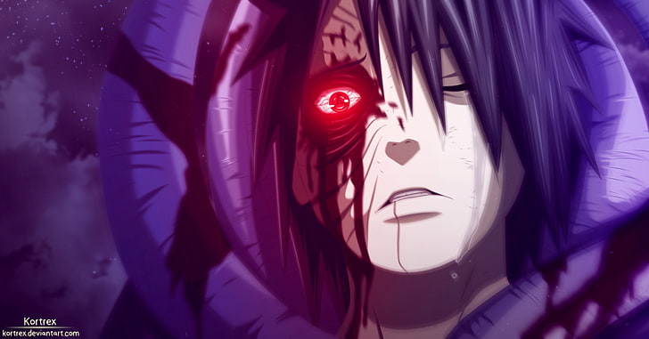 Hd Wallpaper Men Anime Character Illustration Naruto Blood Boy Crying Wallpaper Flare