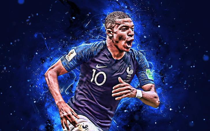 How can i meet my favorite football team? Hd Wallpaper Soccer Kylian Mbappe France National Football Team Wallpaper Flare