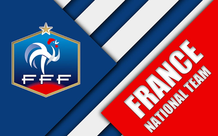 How many people here play on a soccer team? Hd Wallpaper Soccer France National Football Team Emblem Logo Wallpaper Flare