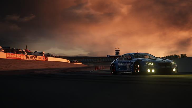 HD wallpaper: Assetto Corsa, race tracks, BMW, sunset | Wallpaper Flare