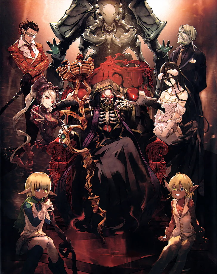 Overlord Anime Wallpaper 1920x1080 : overlord, anime, wallpaper, 1920x1080, Demiurge, (Overlord), 1080P,, Wallpapers, Download, Wallpaper, Flare