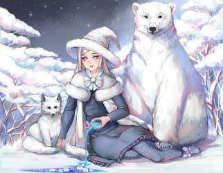 Images Of Anime Cute Adorable Arctic Fox