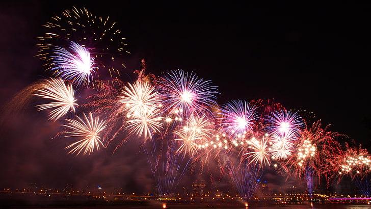 hd wallpaper firework explosive