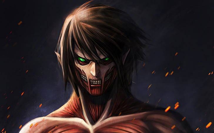 Attack on titan wallpaper, is a new kind of artistic atmosphere. HD wallpaper: Anime, Attack On Titan, Eren Yeager ...