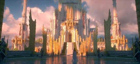 HD wallpaper: artwork castle fantasy art digital Wallpaper Flare