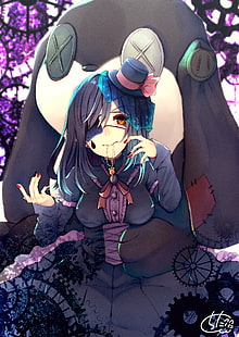Anime Gothic Wallpaper : anime, gothic, wallpaper, Wallpaper:, Anime, Girls,, Gothic, Lolita, Wallpaper, Flare