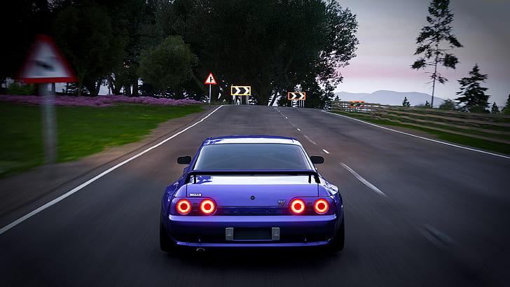 15+ jdm aesthetic wallpaper 4k images. Hd Wallpaper Forza Horizon 4 Car Vehicle Jdm Skyline R32 Nissan Skyline Wallpaper Flare