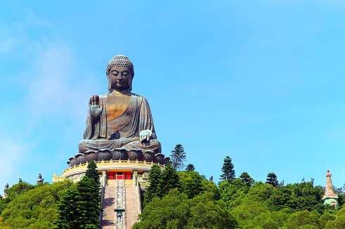 HD wallpaper: Buddha, Buddhism, Tian Tan Buddha, statue, Hong Kong,  meditation   Wallpaper Flare