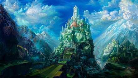 HD wallpaper: fantasy city concept art ancient babylon fantasy art artwork Wallpaper Flare