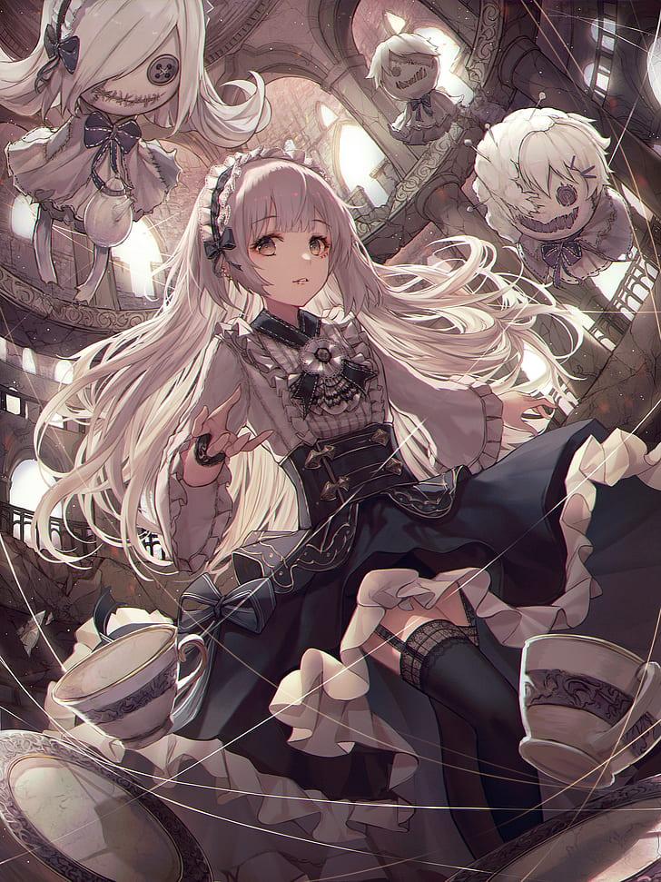 Anime Gothic Wallpaper : anime, gothic, wallpaper, Gothic, Anime, 1080P,, Wallpapers, Download, Wallpaper, Flare