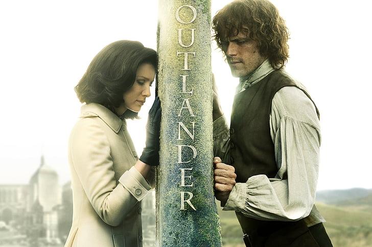 HD wallpaper: Outlander move poster, Season 3, Sam Heughan, Caitriona Balfe  | Wallpaper Flare