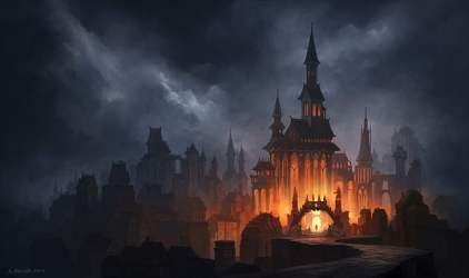 Fantasy Gothic Castle