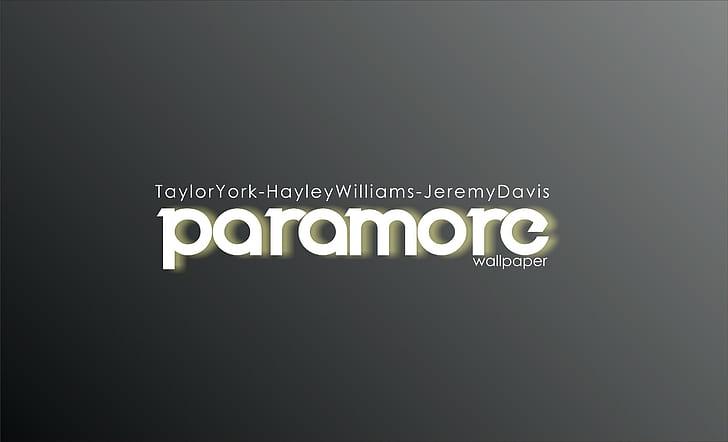 hd wallpaper paramore logo