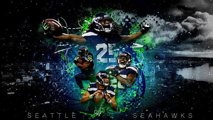 seattle seahawks poster sports nfl