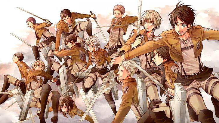 Hd Wallpaper Anime Attack On Titan 104th Trainees Squad Annie Leonhart Wallpaper Flare
