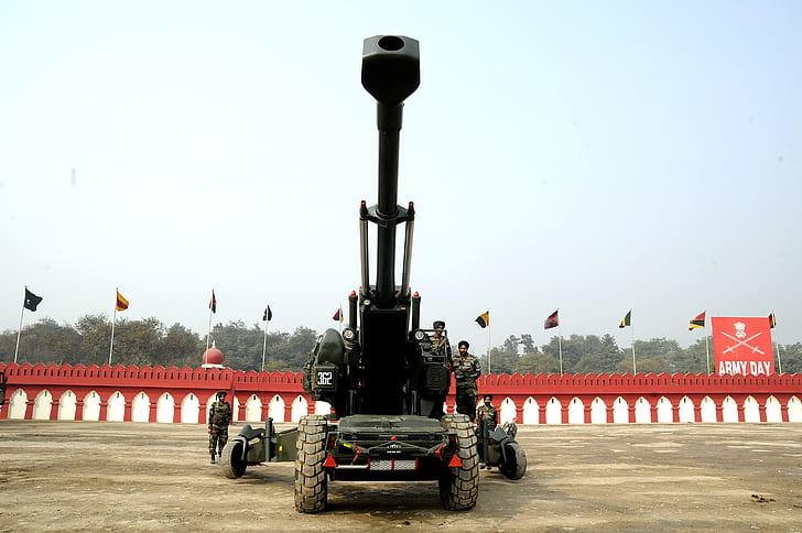 Hd Wallpaper A Artillery Haubits Fh77 Indian Army Wallpaper Flare