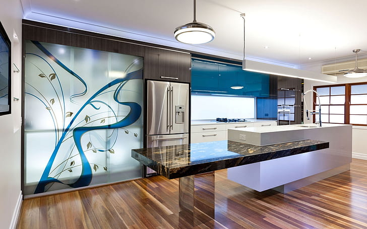 Hd Wallpaper Beautiful Kitchen Design Home Design Interior Design Kitchen Cabinets Wallpaper Flare