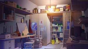 anime wallpapers bedroom rooms tools desktop scenery wallpapermaiden common calming scenes