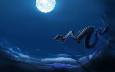 Moon Dragon 1080P 2K 4K 5K HD wallpapers free download Wallpaper Flare