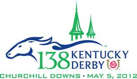 Kentucky Derby logo 2012