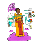 Safe Sisters: A common sense guide to digital safety for women and girls in Sub-Saharan Africa (Internews/Defend Defenders 2018)
