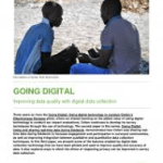 Going Digital: Improving data quality with digital data collection (Oxfam Paper, 2018)