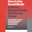Jointly Developed: How to Use Social Media to Better Engage People Affected by Crises