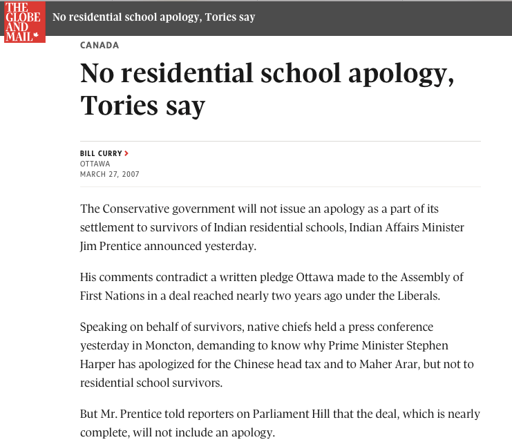 No apology Prentice
