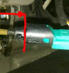faq 205 c4 brake switch causing esp abs fault or speed limit error message switch replacement guide c4 ds4 owners [ 1024 x 768 Pixel ]