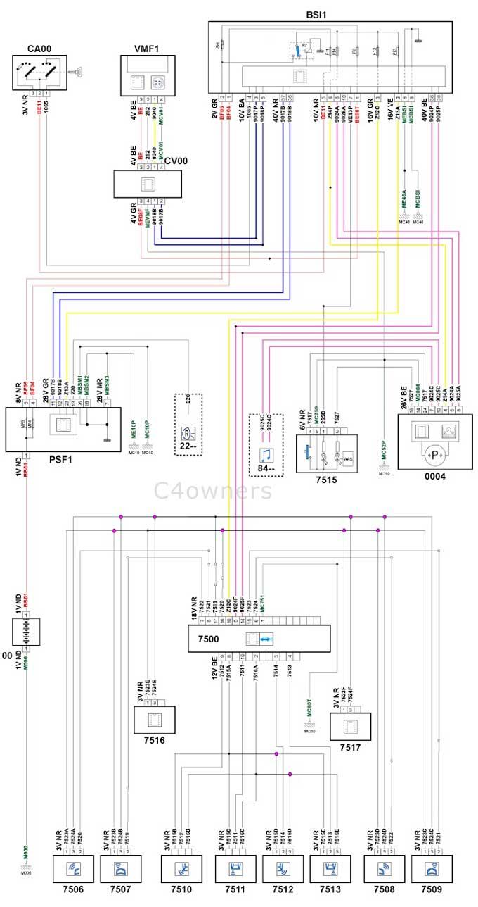 Citroen C4 Wiring Diagram - free download wiring diagrams schematics