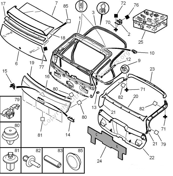 Citroen c4 tailgate wiring diagram