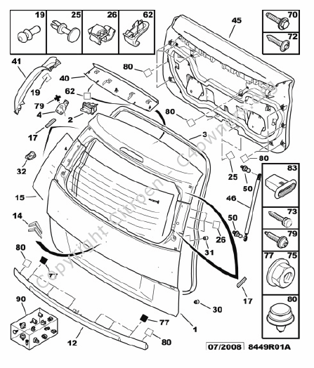 Citroen Radio Wiring Diagram. Citroen. Electrical Wiring