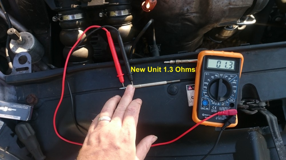 medium resolution of ohms just touching the leads together cheap unit so 1 ohm