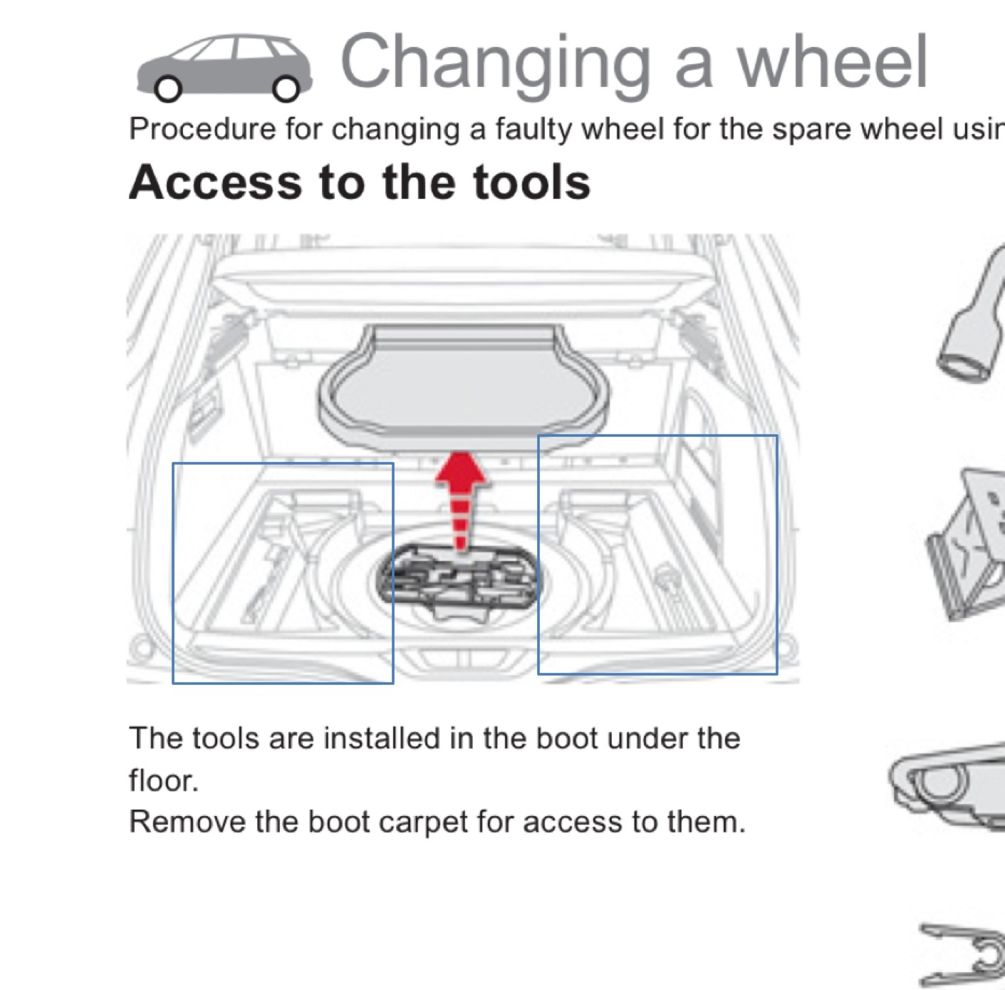 Citroen C4 Picasso Maintenance Manual