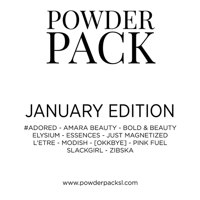 Get Your Powder Pack!