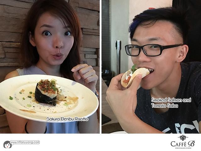 Caffe B Tiffany Yong Peps Goh