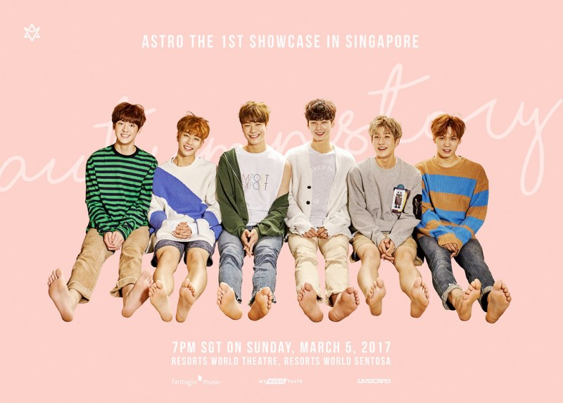 ASTRO THE 1st SHOWCASE IN SINGAPORE
