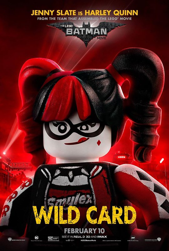The LEGO Batman Movie Harley Poster